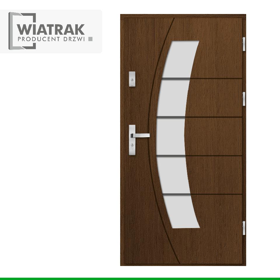 DP24 - Drzwi Płytowe - Wiatrak