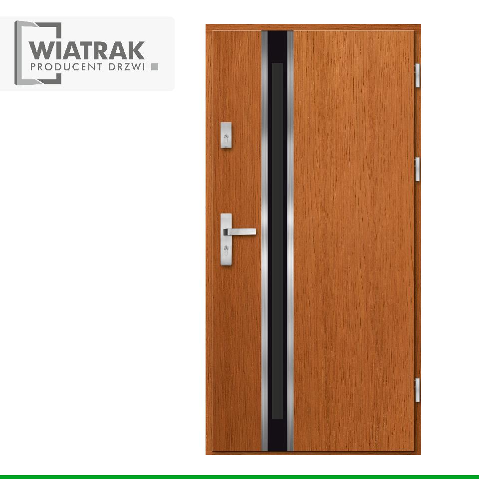 DP25 - Drzwi Płytowe - Wiatrak