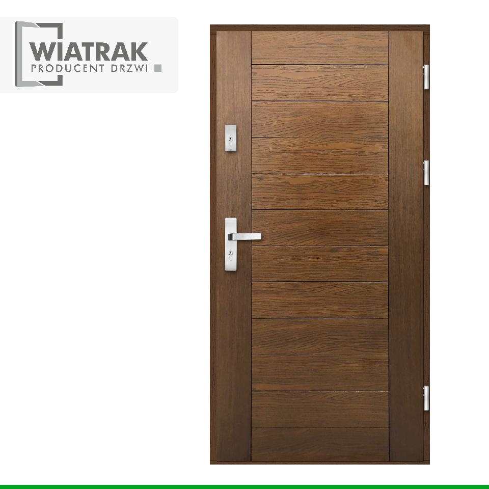 DP26 - Drzwi Płytowe - Wiatrak