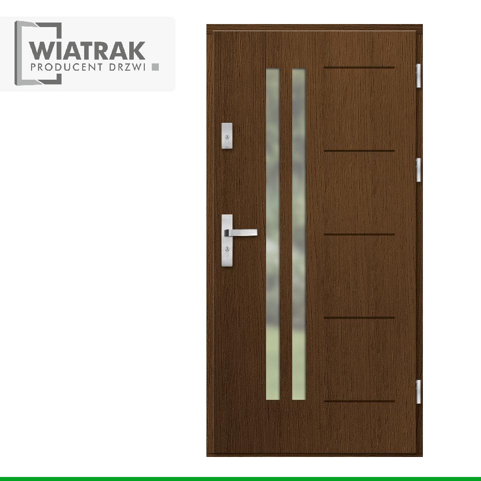 DP33 - Drzwi Płytowe - Wiatrak
