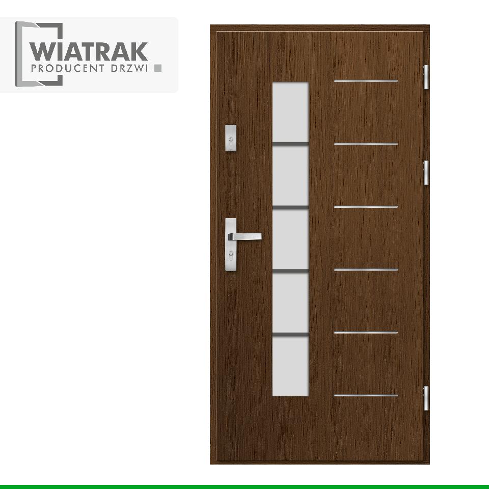 DP34 - Drzwi Płytowe - Wiatrak