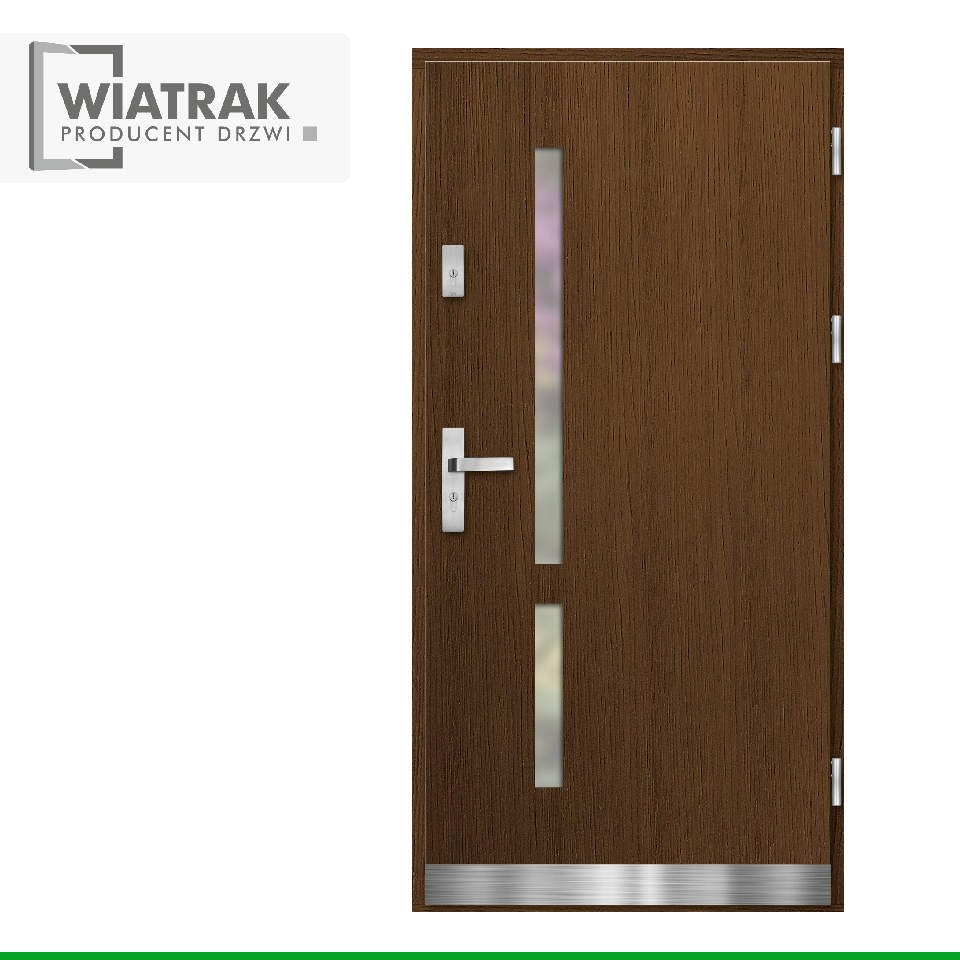 DP35 - Drzwi Płytowe - Wiatrak
