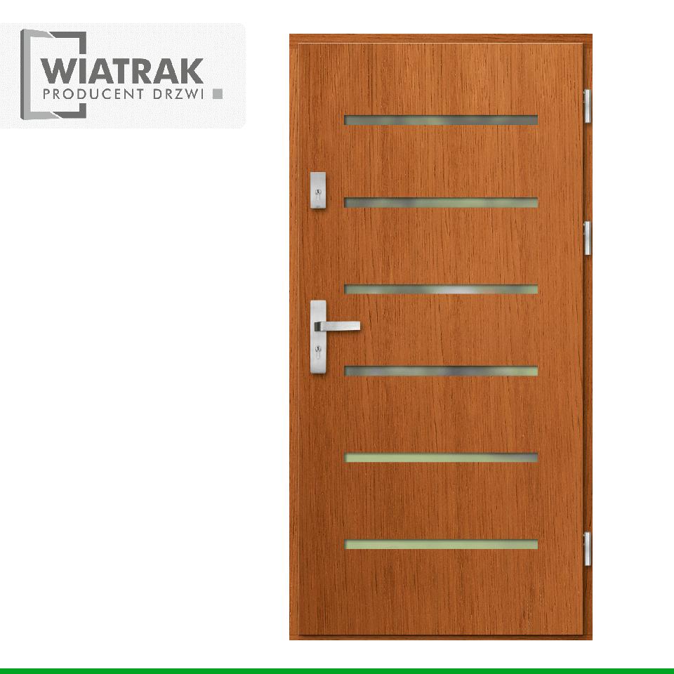 DP37 - Drzwi Płytowe - Wiatrak