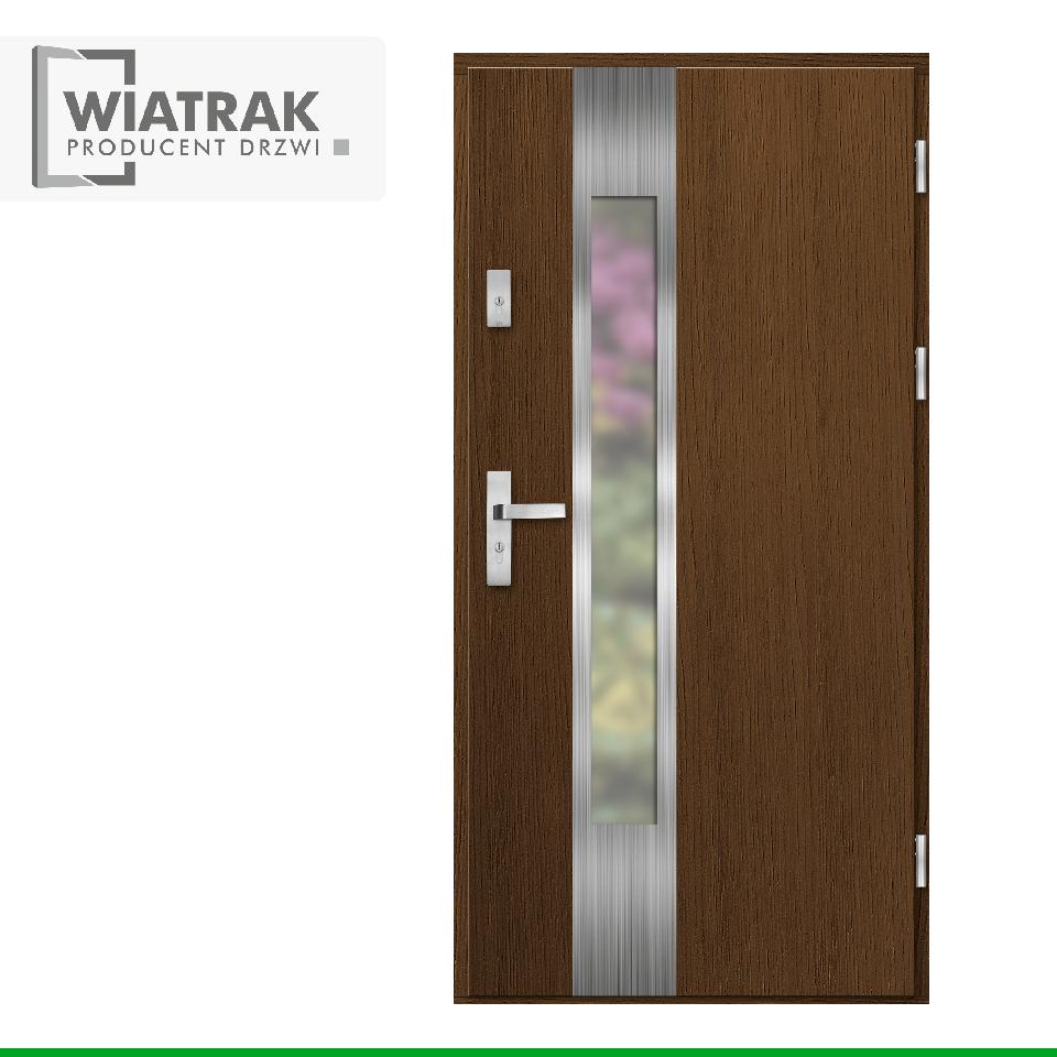 DP38 - Drzwi Płytowe - Wiatrak