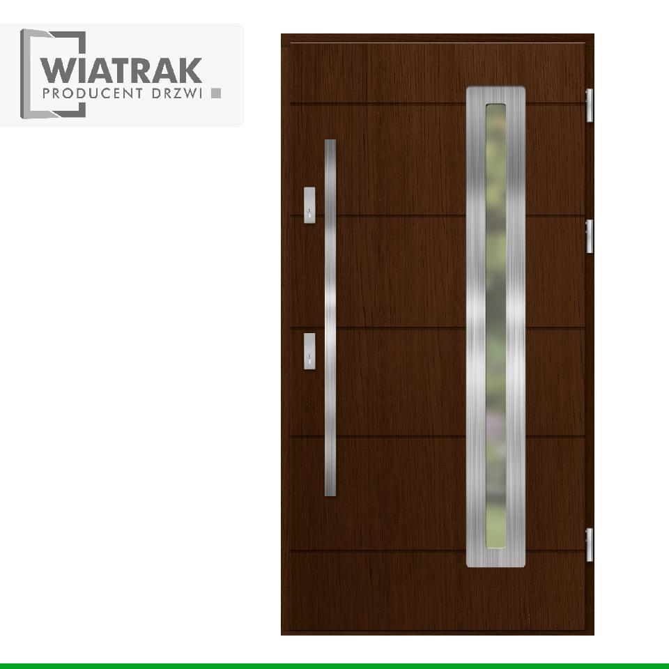 DP40 - Drzwi Płytowe - Wiatrak