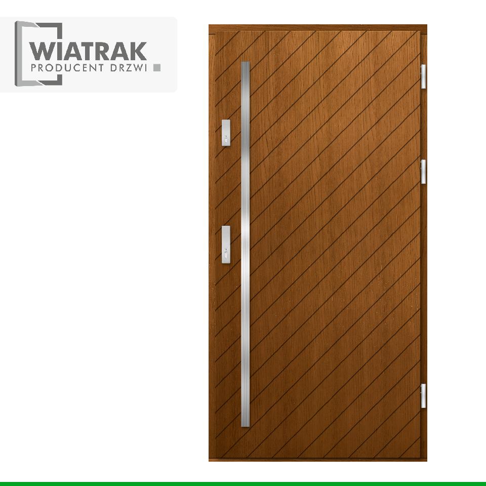 DP44 - Drzwi Płytowe - Wiatrak