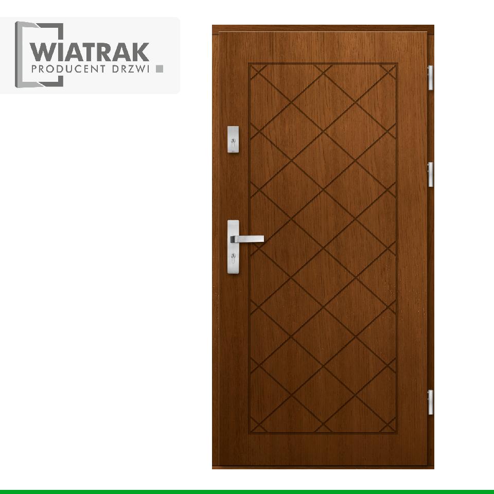 DP45 - Drzwi Płytowe - Wiatrak
