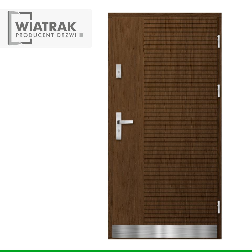 DP46 - Drzwi Płytowe - Wiatrak