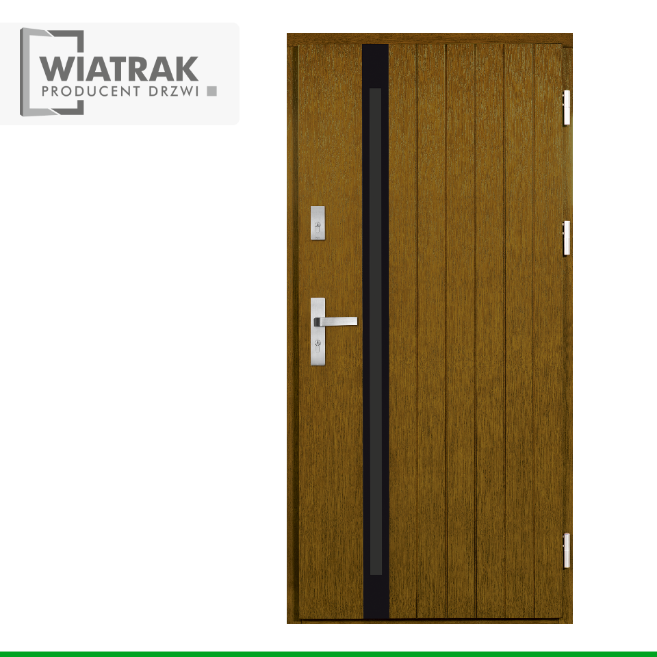 DP48 - Drzwi Płytowe - Wiatrak