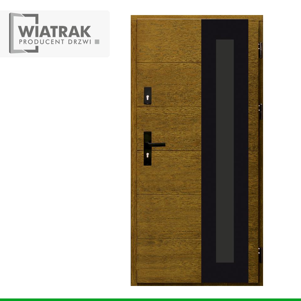 DP49 - Drzwi Płytowe - Wiatrak