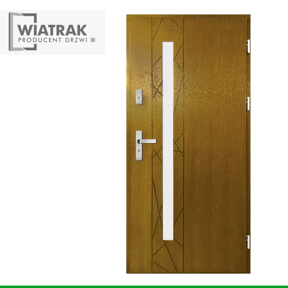 DP50 - Drzwi Płytowe - Wiatrak