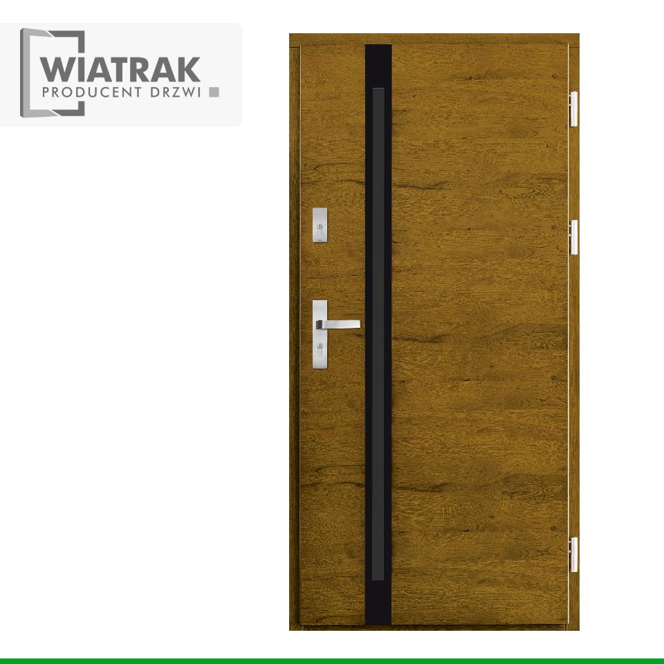 DP51 - Drzwi Płytowe - Wiatrak