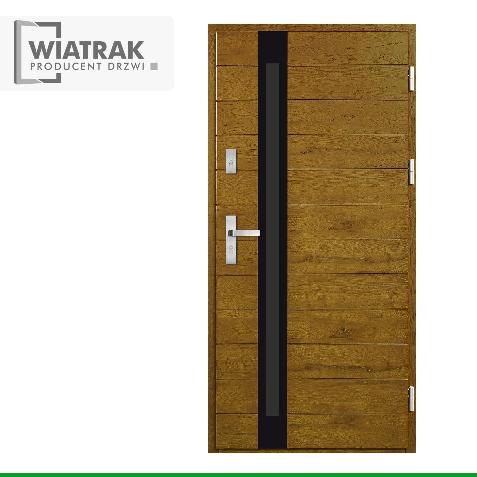DP53 - Drzwi Płytowe - Wiatrak