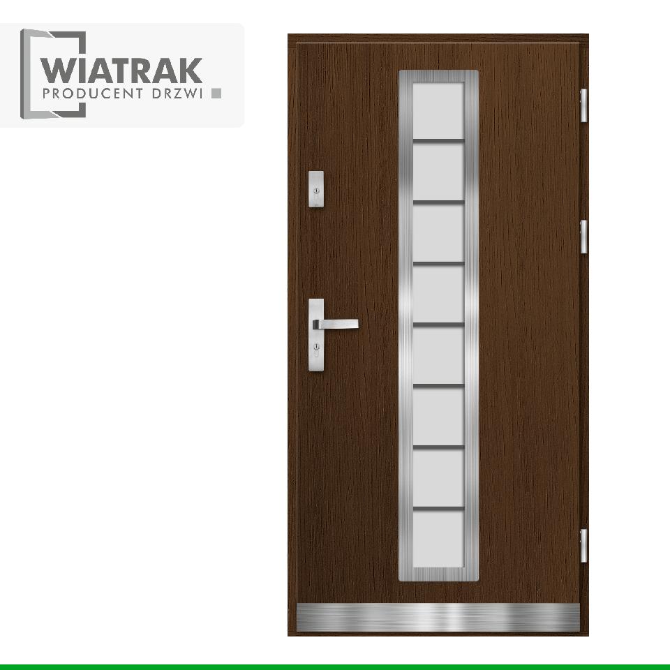 DP9 - Drzwi Płytowe - Wiatrak