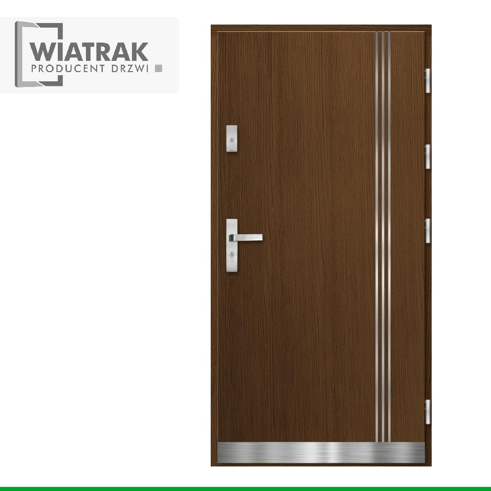 PA1 INOX - Drzwi Pasywne - Wiatrak