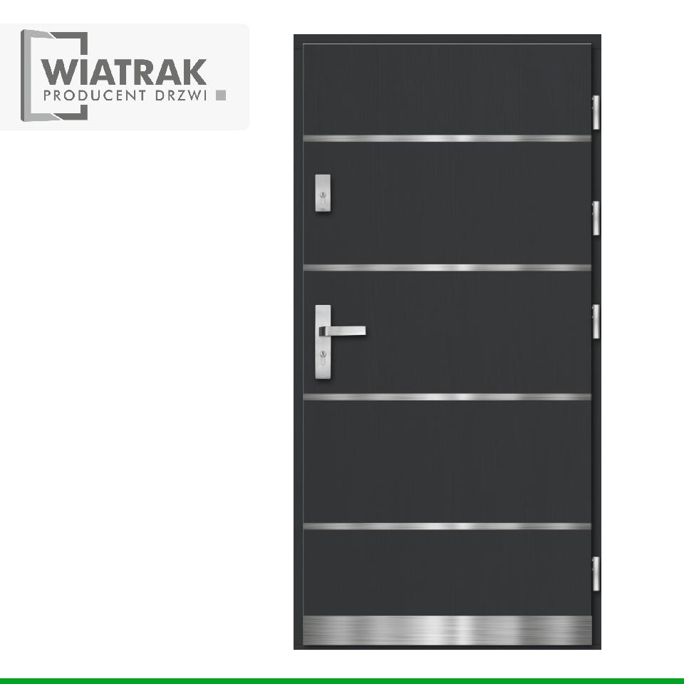 PA2 INOX - Drzwi Pasywne - Wiatrak