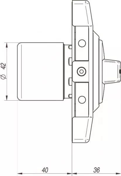 g1000 beside - Zamek nawierzchniowy Gerda G1000 PLUS