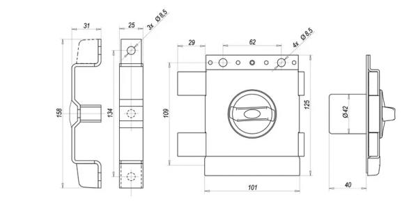 gerta tytan zx 600x293 - Zamek nawierzchniowy Gerda TYTAN ZX