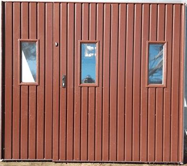 1 - Brama garażowa Wiśniowski 2430X2140 (rozwierna, dwuskrzydłowa)