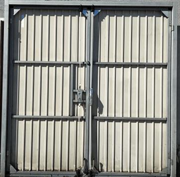2 1 - Brama garażowa Wisniowski 2320x2360 (rozwierna, dwuskrzydłowa)