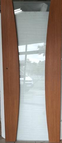 Drzwi wewnętrzne Prawe 80 złoty dąb