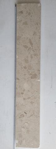 "2 31 - Parapet  CERPOL - ""Botticino"" 150 x 25 (cm)"