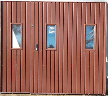 2 - Brama garażowa Wiśniowski 2430X2140 (rozwierna, dwuskrzydłowa)