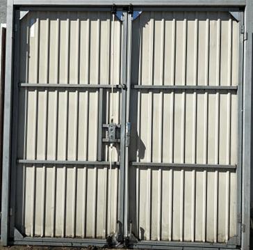 3 1 - Brama garażowa Wisniowski 2320x2360 (rozwierna, dwuskrzydłowa)