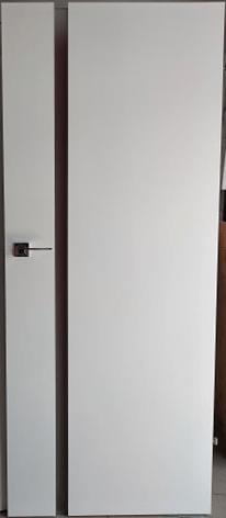 """Drzwi wewnętrzne (Prawe) 80"""" biały + ościeżnica"""