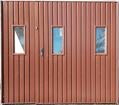 3 - Brama garażowa Wiśniowski 2430X2140 (rozwierna, dwuskrzydłowa)