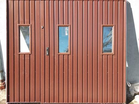 4 - Brama garażowa Wiśniowski 2430X2140 (rozwierna, dwuskrzydłowa)