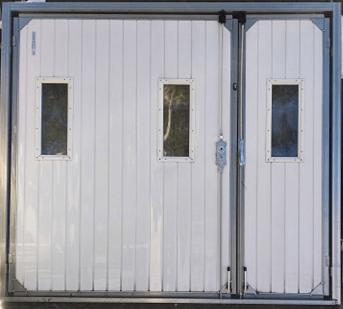 5 - Brama garażowa Wiśniowski 2430X2140 (rozwierna, dwuskrzydłowa)
