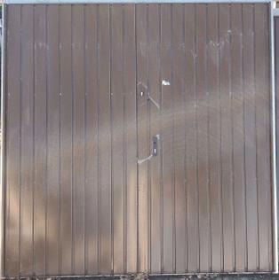6 1 - Brama garażowa Wisniowski 2320x2360 (rozwierna, dwuskrzydłowa)