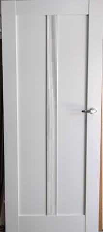 """1 1 - Drzwi wewnętrzne (Prawe) 80"""" biały"""