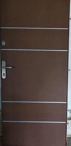 1 3 - Drzwi wejściowe do mieszkania: Gerda WX10 Premium Panelowe (Drzwi Lewe)