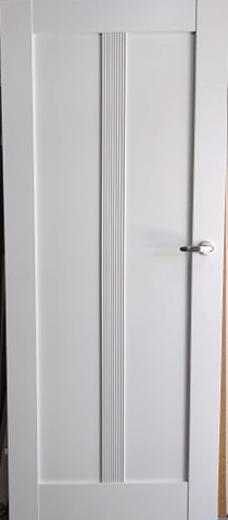 """2 1 - Drzwi wewnętrzne (Prawe) 80"""" biały"""