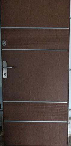 2 2 - Drzwi wejściowe do mieszkania: Gerda WX10 Premium Panelowe (Drzwi Lewe)