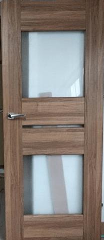 Drzwi wewnętrzne kasztan