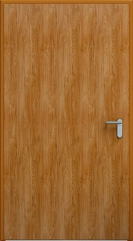 03 eco zloty dab ral8003 - Drzwi stalowe płaszczowe - Wiśniowski