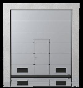 24 - Bramy segmentowe przemysłowe - Wisniowski - Makro Pro 2.0; Makro Pro 100; Makro Therm;