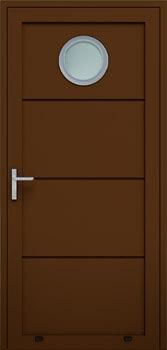 panelowe bez przetloczen przeszklenie O 8014 - Drzwi boczne - Wiśniowski