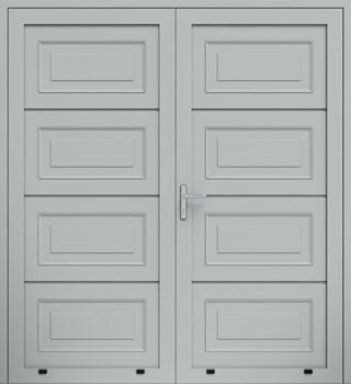 panelowe kasetony dwuskrzydlowe 9006 - Drzwi boczne - Wiśniowski