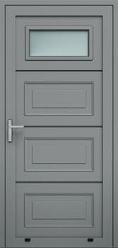 panelowe kasetony przeszklenie A1 9007 - Drzwi boczne - Wiśniowski