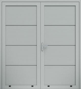 panelowe panelV dwuskrzydlowe 9006 - Drzwi boczne - Wiśniowski