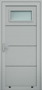panelowe panelV przeszklenie A1 9006 - Drzwi boczne - Wiśniowski