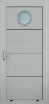 panelowe panelV przeszklenie O 9006 - Drzwi boczne - Wiśniowski