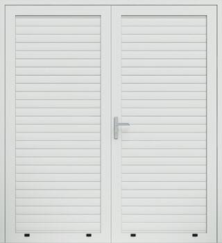 panelowe panel aw77 dwuskrzydlowe 9016 - Drzwi boczne - Wiśniowski