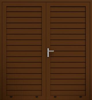 panelowe przetloczenie niskie dwuskrzydlowe 8014 - Drzwi boczne - Wiśniowski