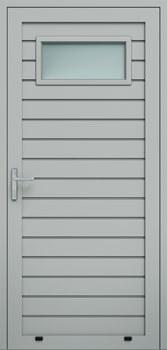 panelowe przetloczenie niskie przeszklenie A1 9006 - Drzwi boczne - Wiśniowski