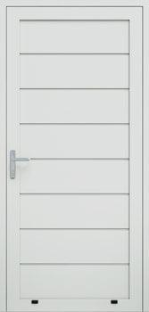 panelowe przetloczenie wysokie 9016 - Drzwi boczne - Wiśniowski